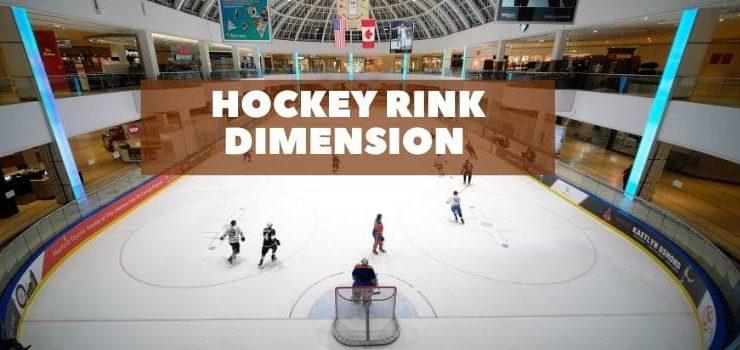 Hockey rink dimension