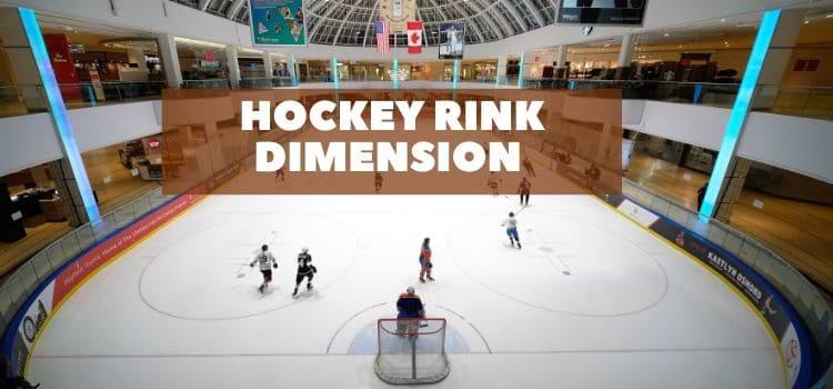 Hockey rink dimension – NHL, Ice hockey rink