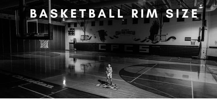 How high is a basketball rim?