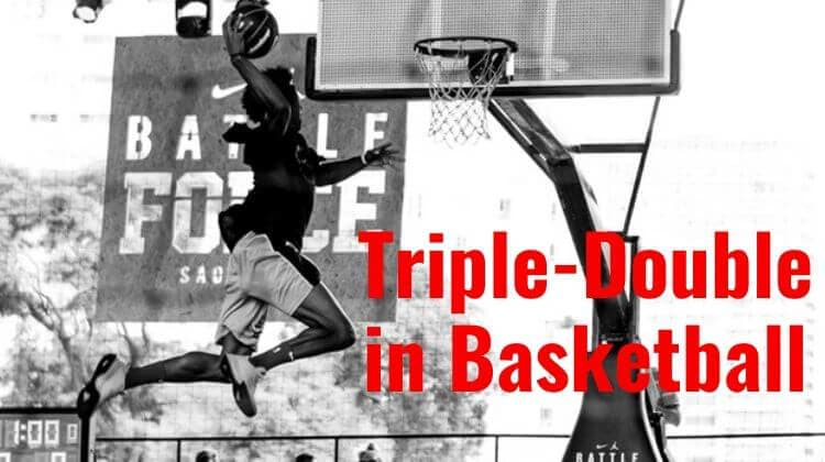What is a triple-double in Basketball