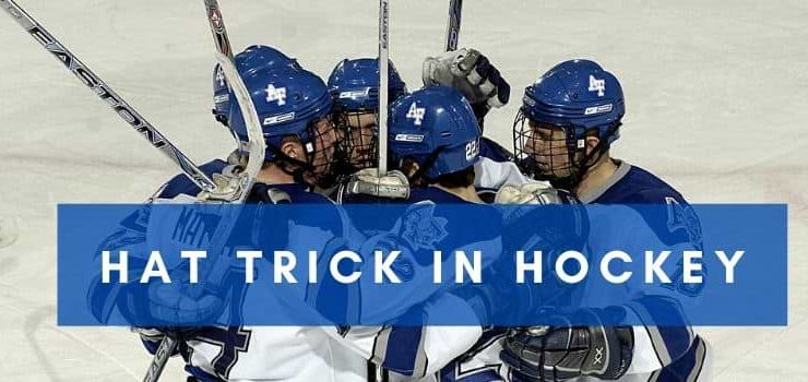 What is hat trick in hockey