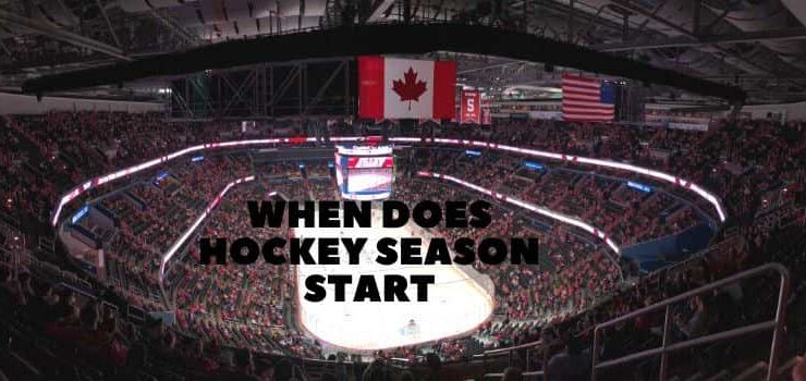 When does hockey season start