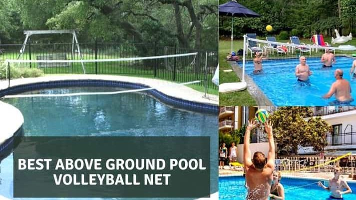 Best above ground pool volleyball net
