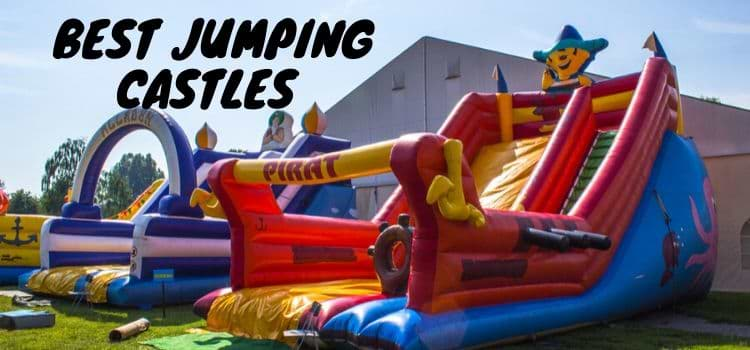Best Jumping Castles For Adult and Toddlers Reviews 2021