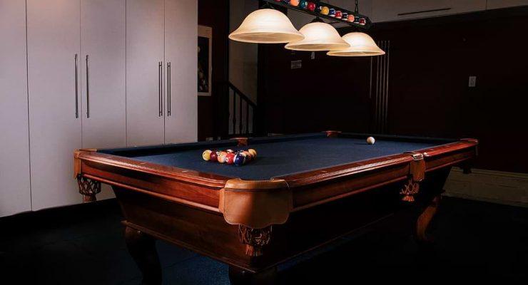 Best lighting for pool table