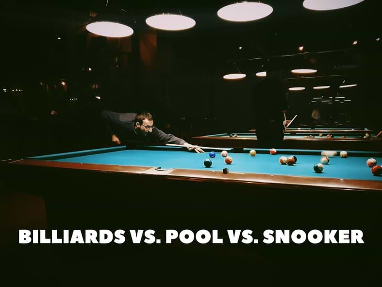 Clear And Unbiased Facts About BILLIARDS VS. POOL VS. SNOOKER