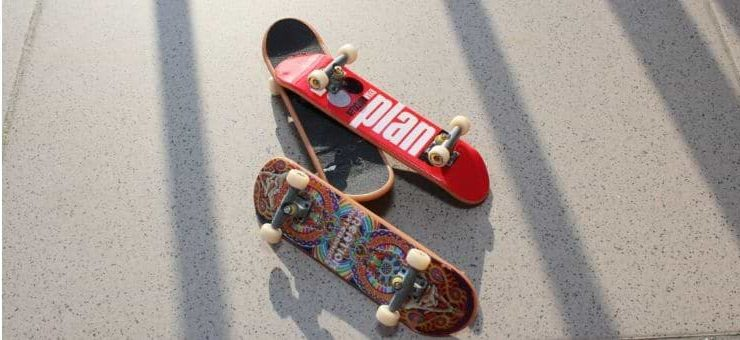 How are skateboards made
