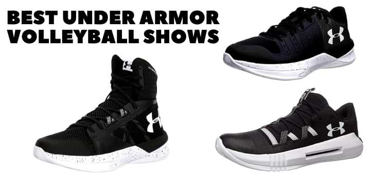 Best Under Armour Volleyball shoes for man and womes reviews 2021