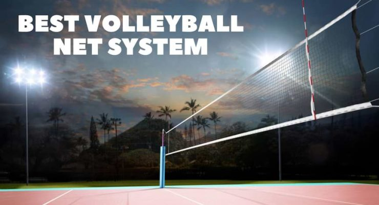 best volleyball net system