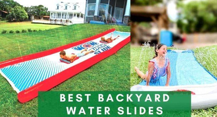 Best backyard water slides