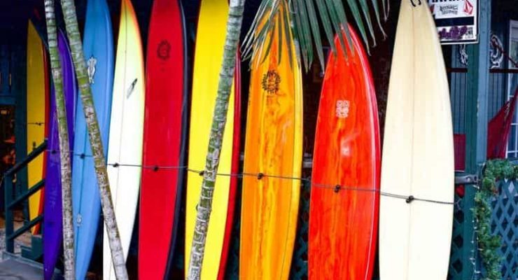 What are surfboards made of
