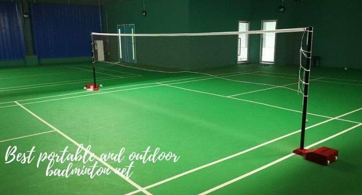best portable badminton net