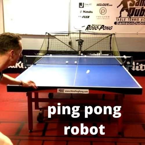 pong pong robot
