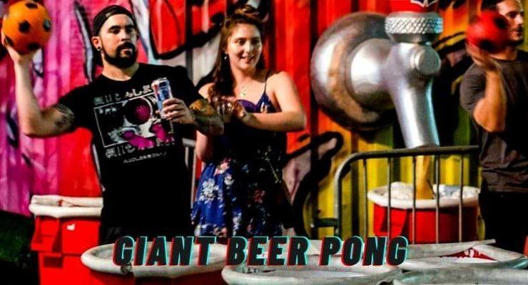 best giant beer pong set