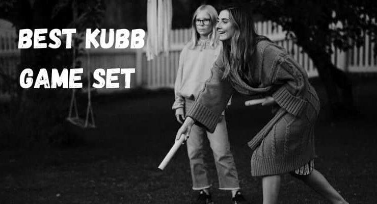 Best Kubb game set