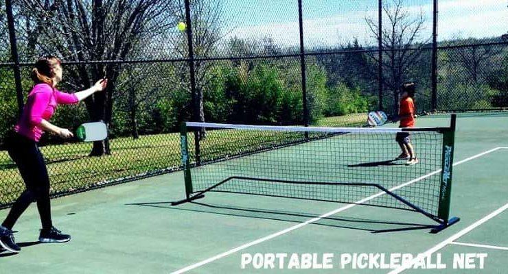 Best portable pickleball net