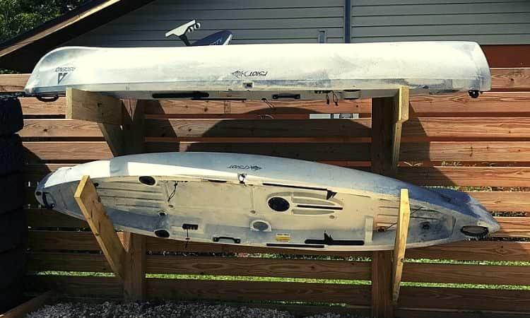 Kayak storage ideas