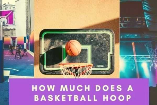 How much does a basketball hoop
