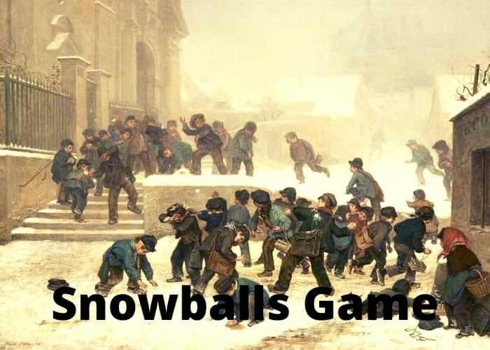 Best indoor snowballs game