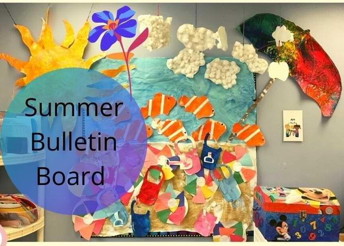Summer bulletin board game idea