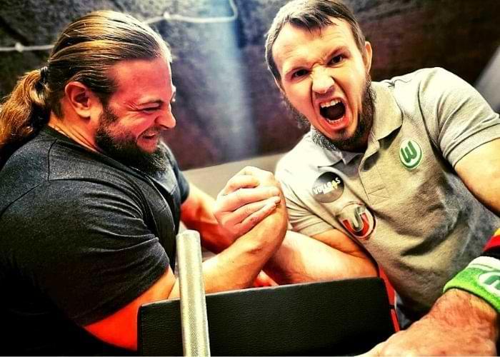 Best Arm Wrestling Tables