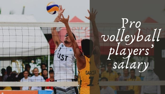 Pro volleyball players' salary