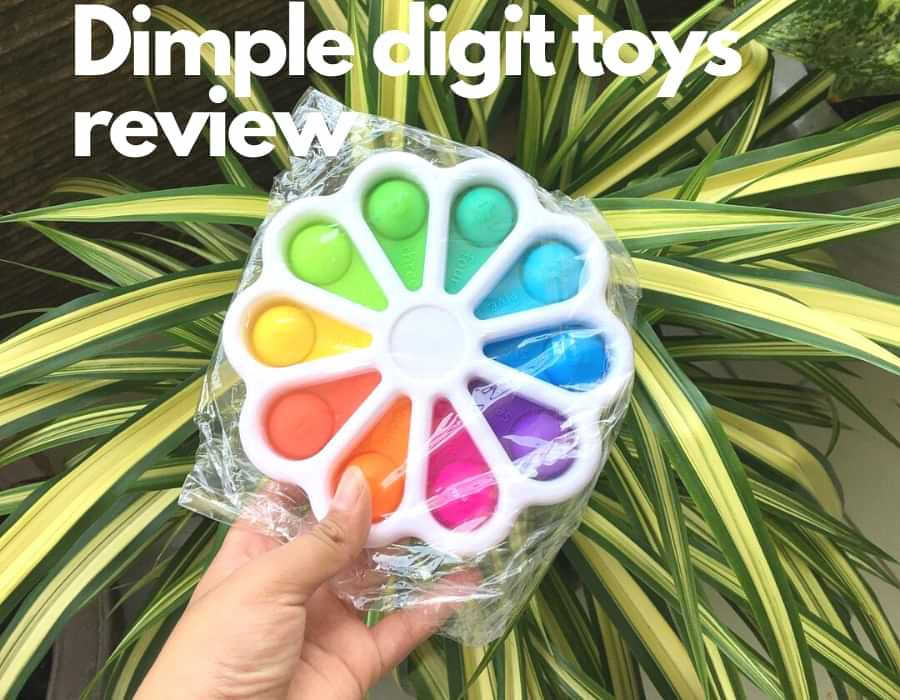 Dimple digit toys review