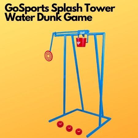 GoSports Splash Tower Water Dunk Game